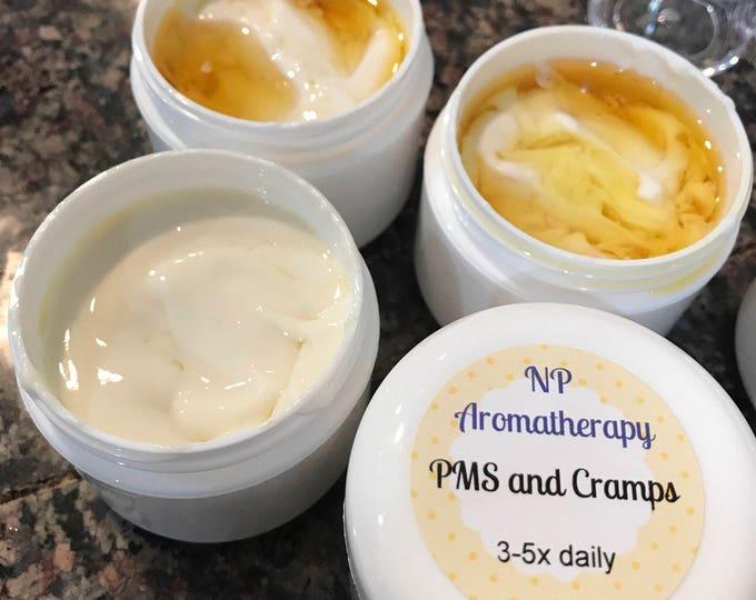 PMS Cramp Cream Organic / CERTIFIED AROMATHERAPIST