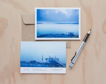Spacious Dawn greeting card