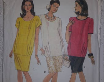 Maternity Vogue 8299 Dress
