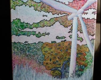 Wind Turbine Painting
