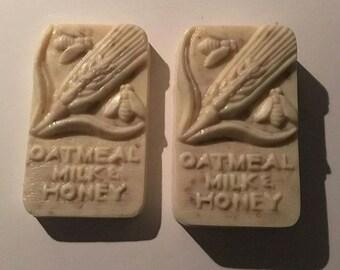 Oatmeal Milk & Honey Natural Soap
