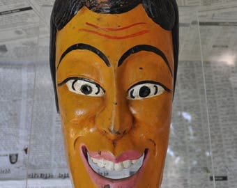 Nepalese - DM084 carved wooden mask