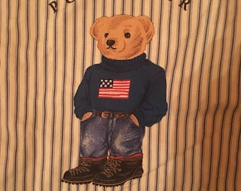 Vintage Polo Bear Pillowcase