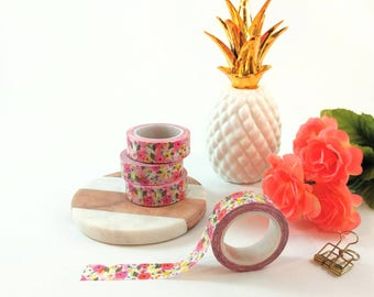 Colourful Summer Floral Washi Tape