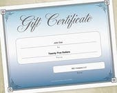 Gift Certificate Printabl...