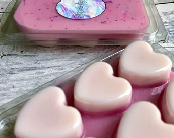 Snow Fairy (Lush Inspired) Scented Soy Wax Clamshell Melt For Wax Warmers / Gift