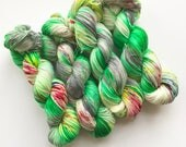 Griswold Family Christmas Hand Dyed Yarn for Knitting or Crochet