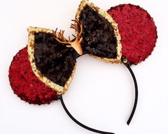 The Hunter - Handmade Mouse Ears Headband