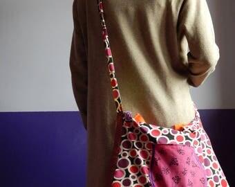 "Handbag ""surround me"" fully lined cotton"