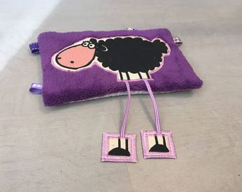 Purple sheep Plushie with long legs