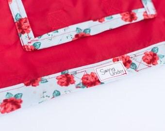 Red Rose Swing Under