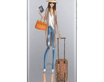 Travel Girl Phone Case