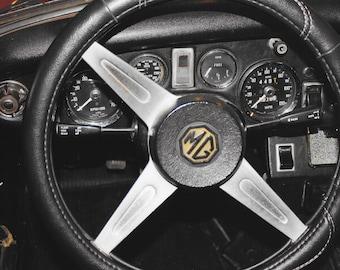 1975 MG Midget Dashboard
