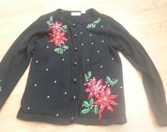 vintage Christmas sweater size small