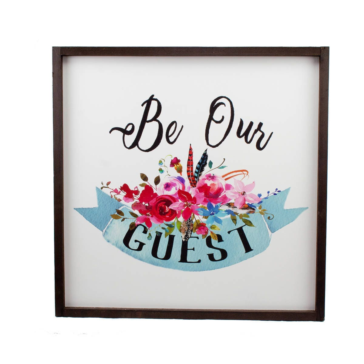 Be Our Guest // Farmhouse Wall Decor // Free Shipping // Wood Print  sc 1 st  Store Discount Men u0026 Women Athletic Shoes clothing accessories and ... & Be Our Guest // Farmhouse Wall Decor // Free Shipping // Wood Print ...