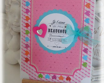 Hand made love Message card