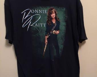 VINTAGE 1989 Bonnie Raitt country music star graphic shirt