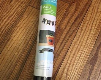 New sealed Cricut black chalkboard vinyl roll