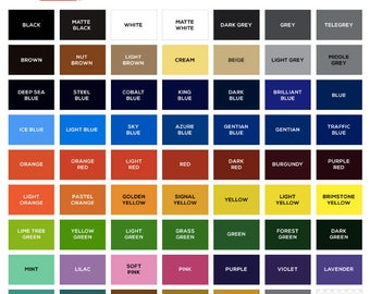 Oracal 651 outdoor Permanent Adhesive Vinyl Sheets