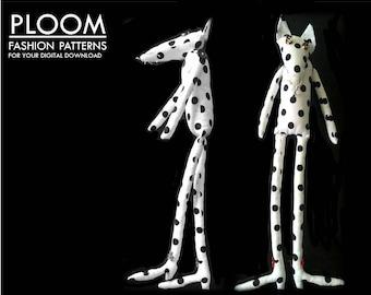 Mr Fox Childs Toy PDF Pattern by Ploom Patterns