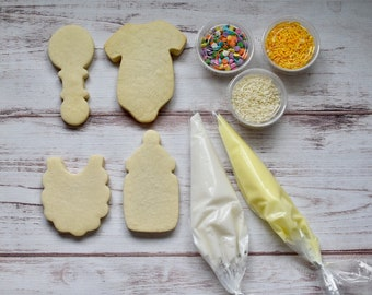 Baby Shower Sugar Cookie Decorating Kit