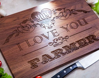 Personalized Gift for Mom, Personalized Cutting Board, Mother birthday gift,  Mother's Day gift, Mother of the bride, Gift from daughter