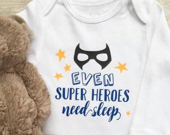 BABY BOY Super Hero Onesie, Baby Boy Onesie, Newborn Clothes, New Mom Gift, Newborn Onesie, Baby Boy Clothes, Baby Boy Bodysuits
