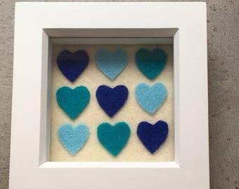 Pretty hearts frame
