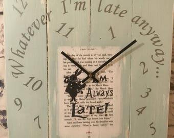 Quirky Fun 'Late' Clock