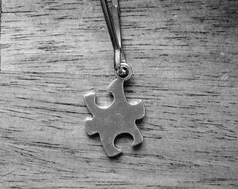 autism awareness zipper pull