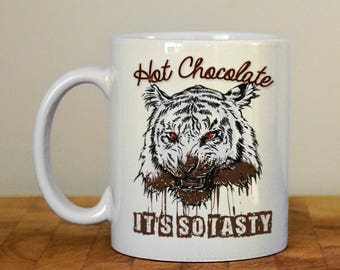 It's so tasty Mug, Hot chocolate mug