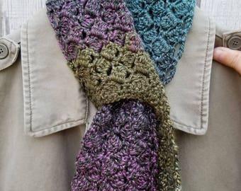 Wolfsbane Crochet Keyhole Scarflet Sparkling Sidesaddle