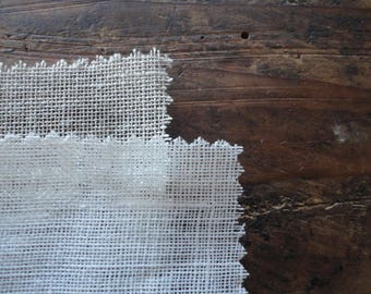 sheer LINEN / gauze, in natural (110 g) or white (85 g) _ fabric by yard