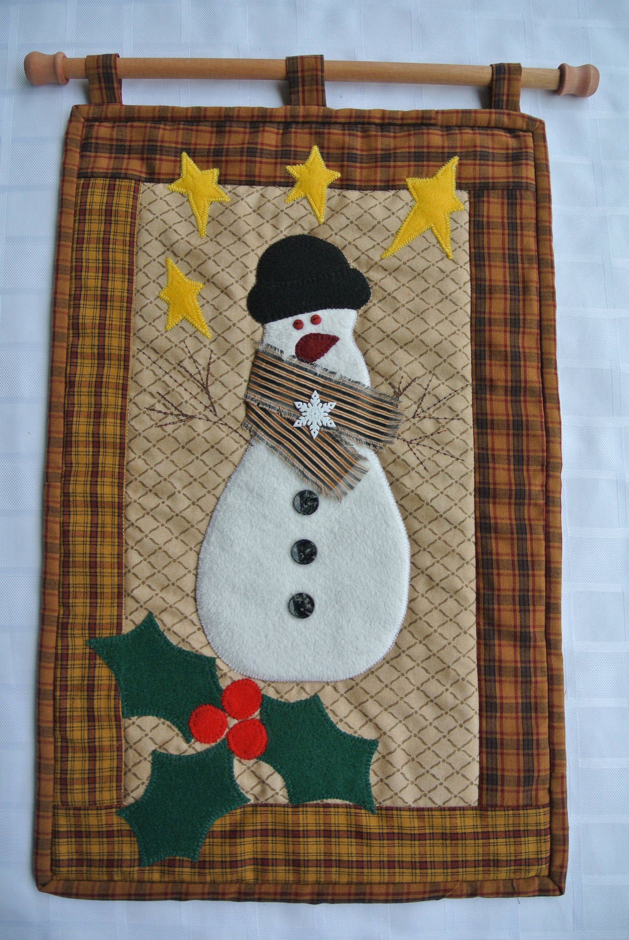 Cool Christmas Wall Decor : Christmas wall hanging frosty the snowman unique