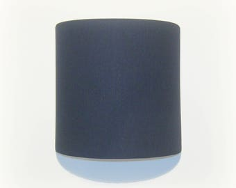 Applique wall Navy plain semicircle