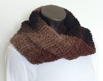 Rich Brown Lite Infinity Scarf