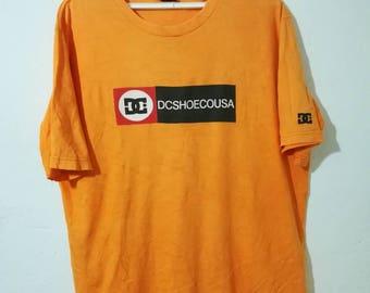 Rare DC shoe skateboard t-shirt XL size