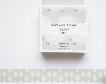 washi tape, washi kawii tape,nordic washi,washi sheep,lwashi tape uk,scrapbooking,stationary,journal,planner,gift wrapping tape,masking tape