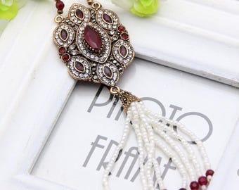 Sale Indian vintage jewelry  tassels necklace