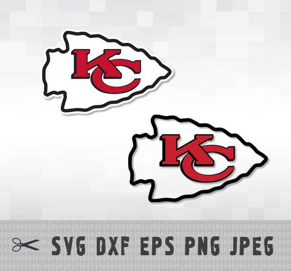 Download Kansas City Chiefs SVG PNG DXF Logo Layered Vector Cut File