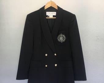 ESCADA MARGARETHA LEY 100% Cashmere Blazer Jacket