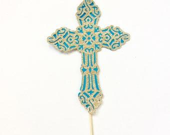 Holy Cross Cake Topper