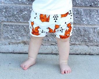 baby fox shorts, baby fox leggings, baby boy shorts, baby fox shorts, fox shorts, baby boy fox pants, boy fox pants