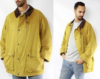 RARE Jacket Burberry / Vintage Burberry Jacket / Burberrys Jacket / Yellow Jacket / Burberry Coat / Jacket Burberry / Yellow Coat Burberry