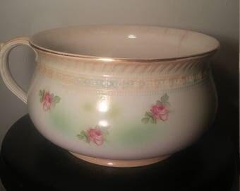 Antique Swinnertons 1930s Chamber Pot (Made in Hanley, England)