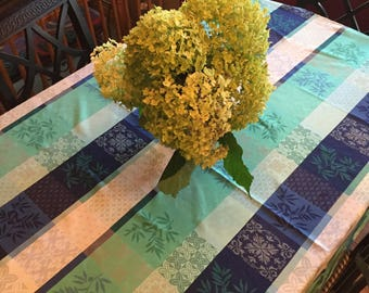 French tablecloth- Blues