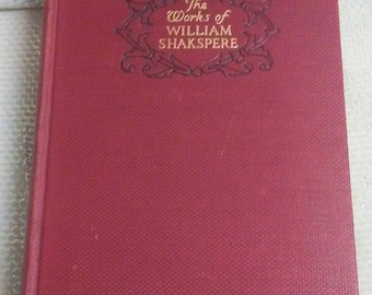 The Works of WILLIAM SHAKESPERE, Avon Edition, Funk & Wagnalls Co. 1920s 1127 Pg