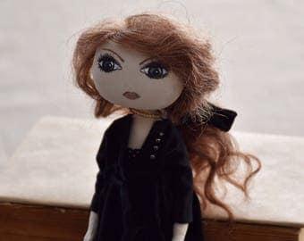 Art doll doll Rag doll Handmade doll art doll rag doll doll fabric textile