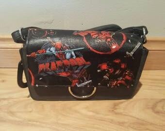 Marvel - deadpool handbag - custom made