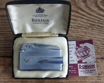 Ronson Veraflame Vintage Lighter
